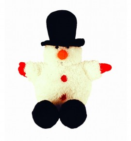 Снеговик в котелке